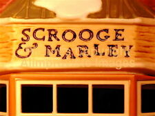 Dept 56 Dickens Village SCROOGE & MARLEY COUNTING HOUSE! 58483 MINT! FabULoUs!