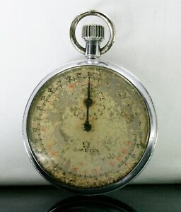 Vintage Omega Stopwatch winding Not in working condition