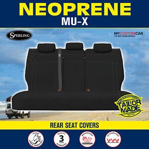 Isuzu MU-X 2013-2021 Waterproof Neoprene Rear (Row3) Car Seat Covers MUX