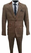 One Button Regular Length Check Suits & Tailoring for Men