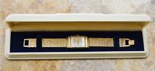 Ultra-Rare! Vintage Circa 1940's Hamilton Barton Solid 14K Watch, 14K Band, Box