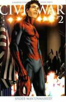Civil War 2 Variant Mark Millar Steve McNiven Spider-Man Identity Revealed NM