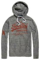 Superdry Mens Vintage Premium Goods hood Urban grey grit Hoodie Ship Worldwide