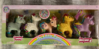 My Little Pony 35th Anniversary Retro Rainbow Collection Scented Ponies 5 Pack