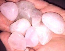 Angel Pink tumbled Rose Quartz stones (1)