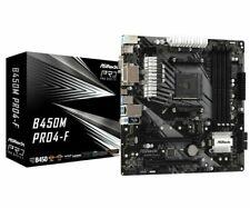 Ryzen 3000 Ready Asrock mATX B450M PRO4-F, AMD B450, AM4, Micro ATX, 4 DDR4