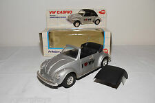 DICKIE 4088 VW VOLKSWAGEN BEETLE KAFER CABRIO GREY I LOVE VW NEAR MINT BOXED