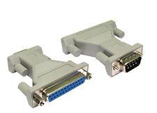 Série DB9 mâle vers câble femelle DB25 Pin connecter vieille imprimante scanner lecteur zip