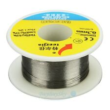 Roll of 0.3mm Dia. Tin Lead Soldering Solder Wire Rosin Core Tin(Sn) Lead(Pb)