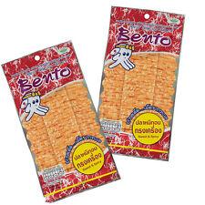 20g X2 Bento Original Thai Sweet & Spicy Recipe Seafood Squid Mixed Surimi Snack