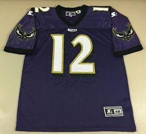Vintage Baltimore Ravens Vinny Testaverde #12 Football-NFL Starter Jersey Size46