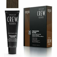 American crew colore uomo Precision Blend 4-5 castano medio da 40 ml x 3