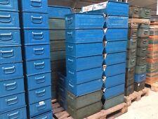 4 St. Stapelboxen Schäfer Kisten inkl. Versand innerhalb BRD  Blau