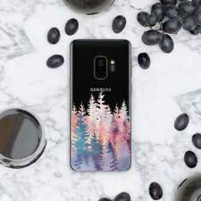 Colorful Forest Rubber Case For Samsung Note 7 8 9 Rubber Cover Galaxy S9 S10e