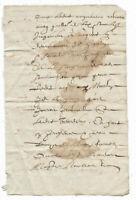 c1500 fragment manuscript oncial calligraphy DAMAGED 1us$ starting price