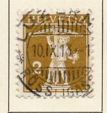 Switzerland 1909 Early Issue Fine Used 2r. 042854