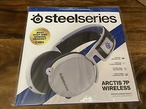 SteelSeries Arctis 7P Wireless Lossless 2.4GHz White Headset Playstation 5 PS5