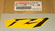 06 FZ1-N New Genuine Yamaha Seat Tail Cowl Panel Decal Emblem Badge 2D1-2163G-20
