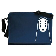 Kaonashi Mask No Face Anime Navy Blue Messenger Shoulder Bag
