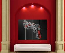 Pulp Fiction Pistol Gun Giant Wall Art New Poster Print Picture
