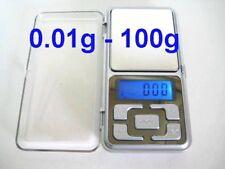 Pocket Digital Scale 100g - 0.01g Use AAA Battery, Free Fast shipping Australia
