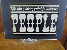 People : Ron Yablon Graphic Archives 1970 Loose Leaf Binder & Pages