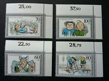 Germany Youth Welfare Max And Moritz 1990 Painting (stamp w corner margin) MNH