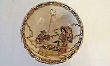 Antique Satsuma Bowl cira 1900-1909