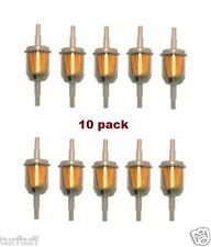 """10 pcs   6MM-8MM  1/4"""" 5/16""""  INLINE FUEL GAS FILTER  LAWN MOWER SMALL ENGINE"""