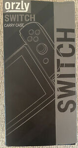 NEW! Orzly Carry Case For Nintendo SWITCH Console - Black