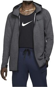 Nike Therma Flex Showtime Basketball Hoodie Dk Grey AT3263-032 Size L Fast Ship!