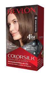 Revlon Colorsilk Medium Ash Brown 40 Beautiful Hair Color