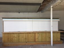 40mm 50mm Rolling Security Shutter Aluminum roll down Wind Rated roll up shutter
