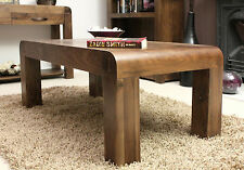 Walnut Rectangle Coffee Tables without Assembly Required