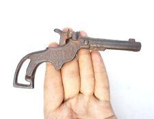 Original Vintage Old Antique Unique Design Cast Iron Rare ZIP Gun Toy USA