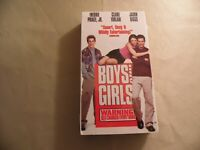 Boys and Girls (Used VHS Tape) Free Domestic Shipping