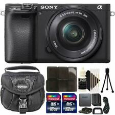 Sony Alpha a6400 Mirrorless Digital Camera with 16-50mm Lens and Acc. Kit
