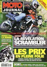 MOTO JOURNAL 1466 Essai Road Test VOXAN Scrambler HONDA VTX 1800 Silver Wing