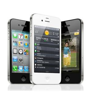 Refurbished New Apple iPhone 4S 8/16/32/64GB Original Unlocked Smartphone