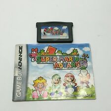 Super Mario Advance ( Nintendo GameBoy Advance ),GBA , Cart and manual
