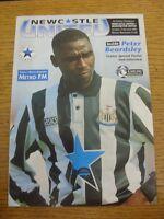 11/12/1993 Newcastle United v Manchester United [Double Season] . Footy Progs/Bo
