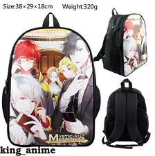 Hot Game Mystic Messenger 707 Zen Backpack Packsack knapsack Schoolbag Travel