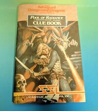 Advanced Dungeons & Dragons Pool of Radiance Clue Book Rare