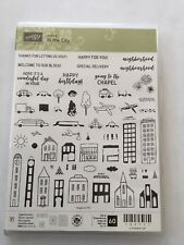 Stampin Up! In the City Stamp Set *RETIRED*