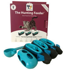 New Doc & Phoebe's Indoor Hunting Cat Feeder - New Design With Adjustable Holes