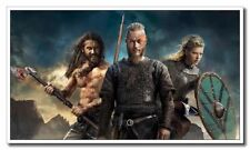 Vikings Clive Standen Travis Fimmel 12x21inch TV Shows Silk Poster Hot Art Print