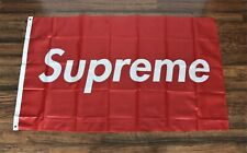 New Supreme Banner Flag 3' x 5' Red Box Ships from USA Shipper America