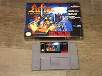 Lufia & the Fortress of Doom Super Nintendo Snes Cleaned Tested w/Case Authentic