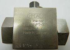 Block type ball valve.