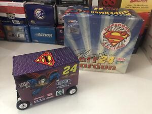 Jeff Gordon #24 Dupont Superman DC Comics 1/16 Pit Wagon 1999 Action 1 of 3,504